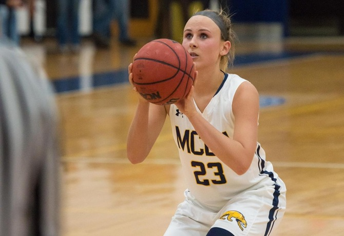 Five Women's Basketball players notch double figures, but MCLA drops overtime heartbreaker to Rams 87-77