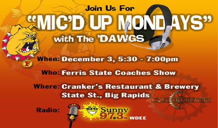 "The Third ""Mic'd Up Monday"" With The Dawgs Set For This Monday"