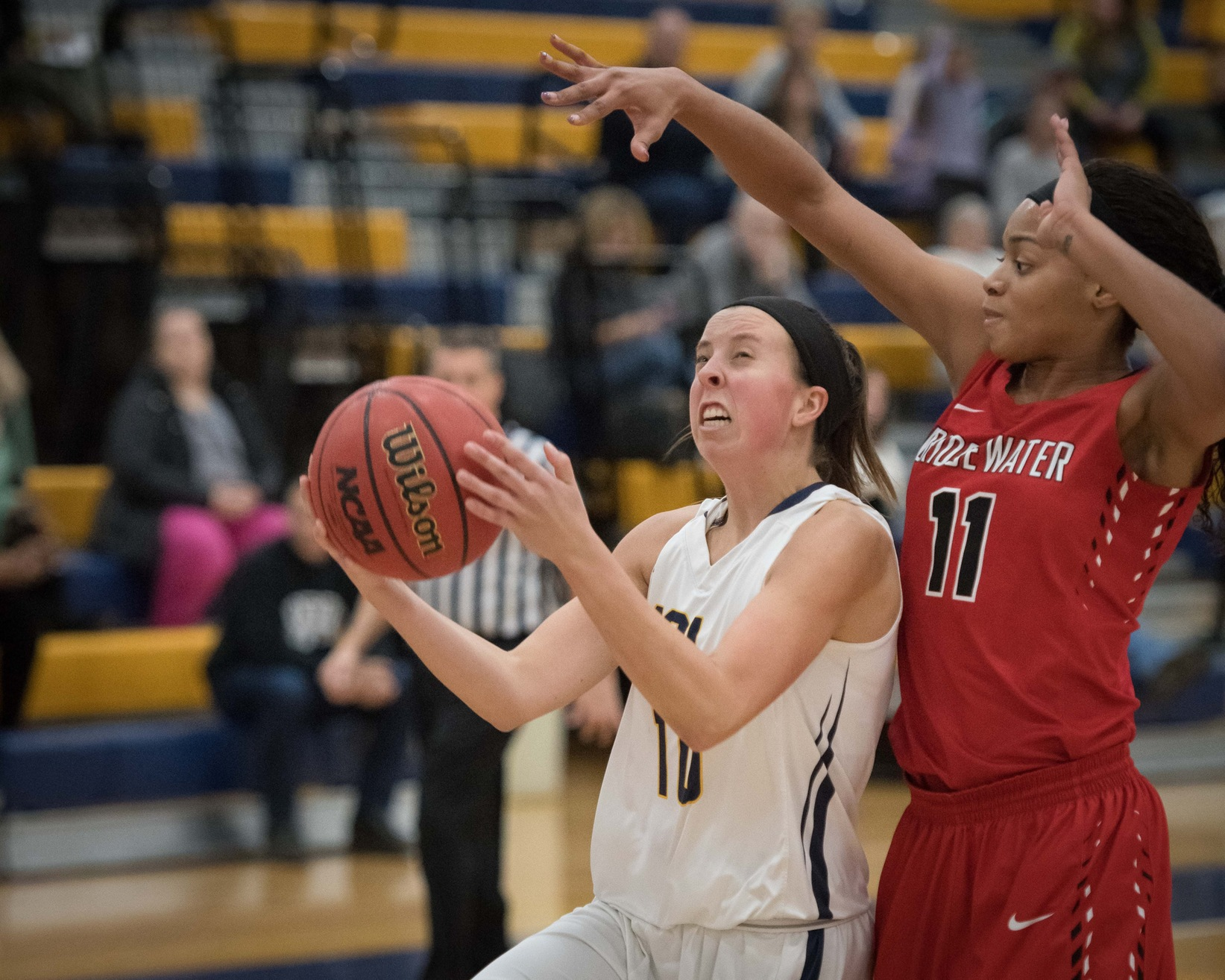 Women's Basketball tripped up at home by hot shooting Falcons 81-76