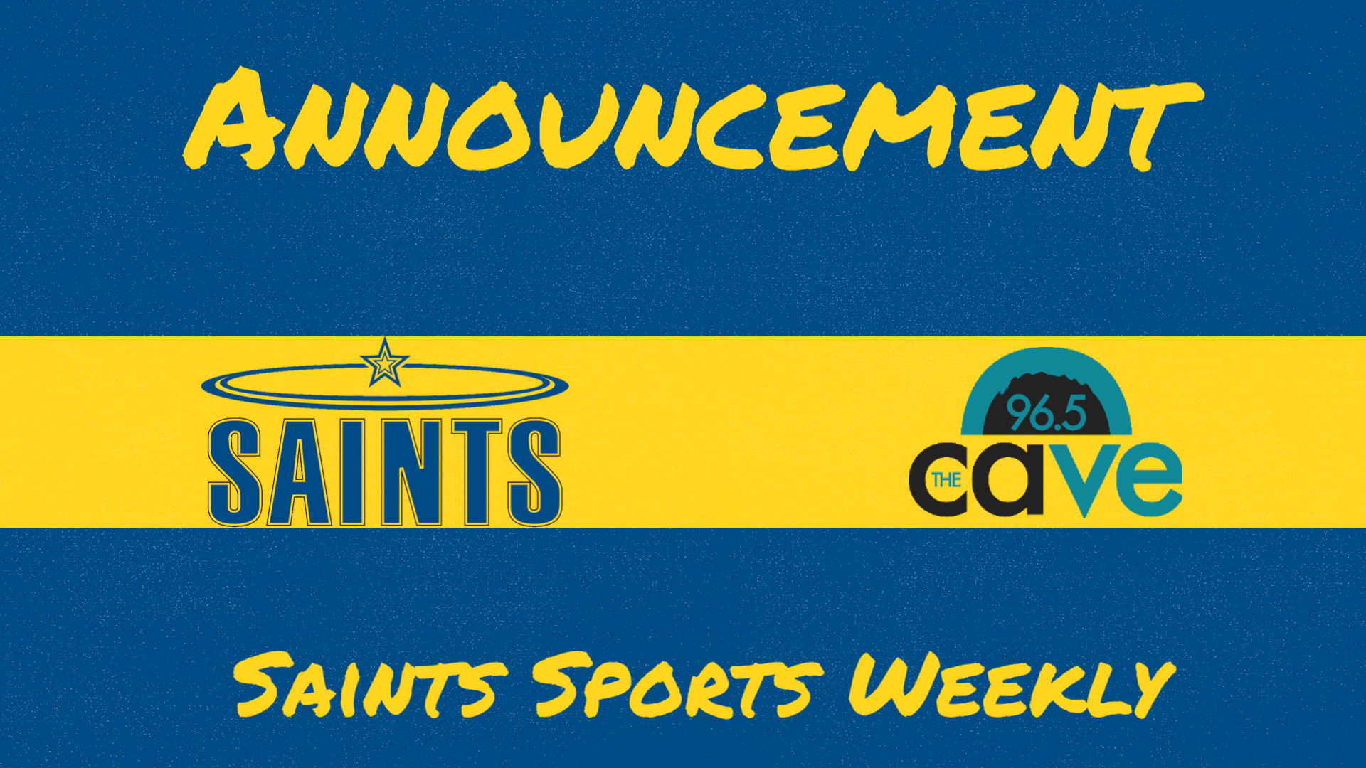 Saints Sports Weekly on 96.5 FM The Cave to Feature Women's Track and Field Monday Night