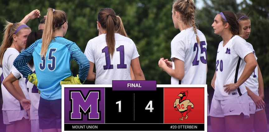 Women's Soccer: Mount Union Drops Contest to #20 Otterbein