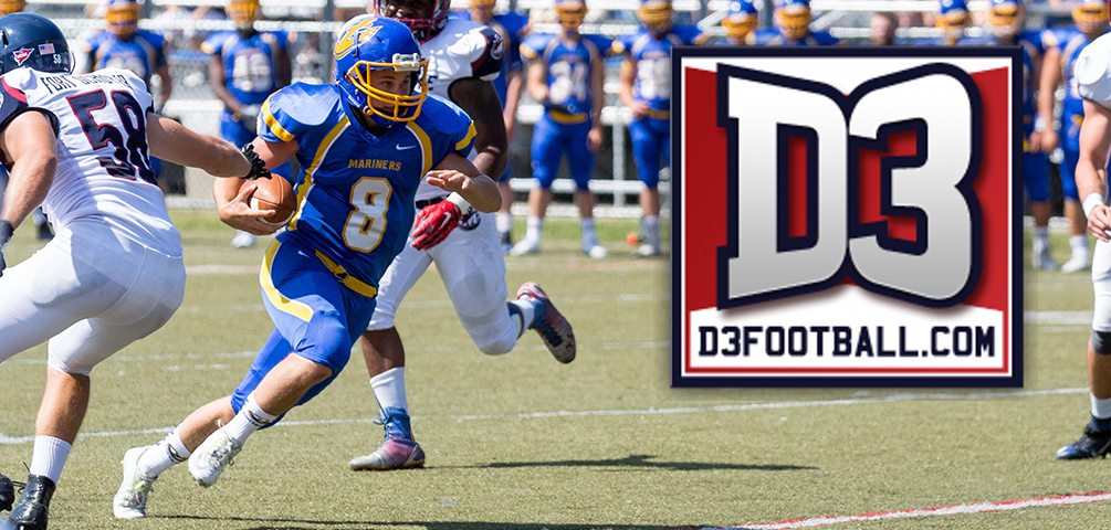 Creeger Named to D3football.com Team of the Week