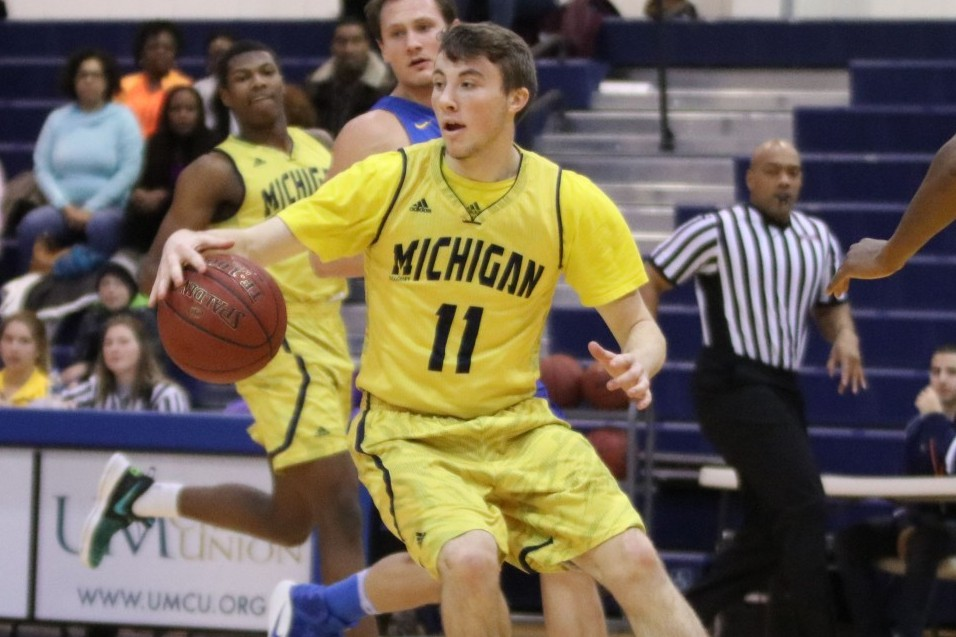 Photo for Wolverine men rally for big WHAC win over Saints