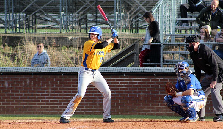 Baseball Loses Double-Header to Tusculum