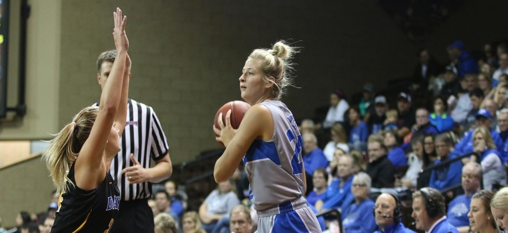 Offense shines as Tiger women route No. 16 Friends University