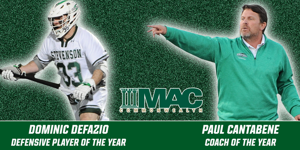 DeFazio, Cantabene Earn Major Awards, Eight From Men's Lacrosse Named MAC Commonwealth All-Conference