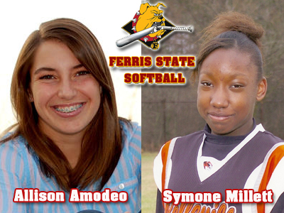 Ferris State Softball Signs Allison Amodeo and Symone Millett