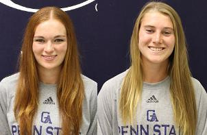 Ramsey and Loftus Earn PSUAC Student-Athlete of the Week Accolades