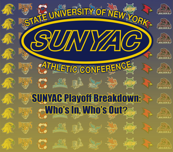SUNYAC playoff breakdown: Who's In, Who's Out?
