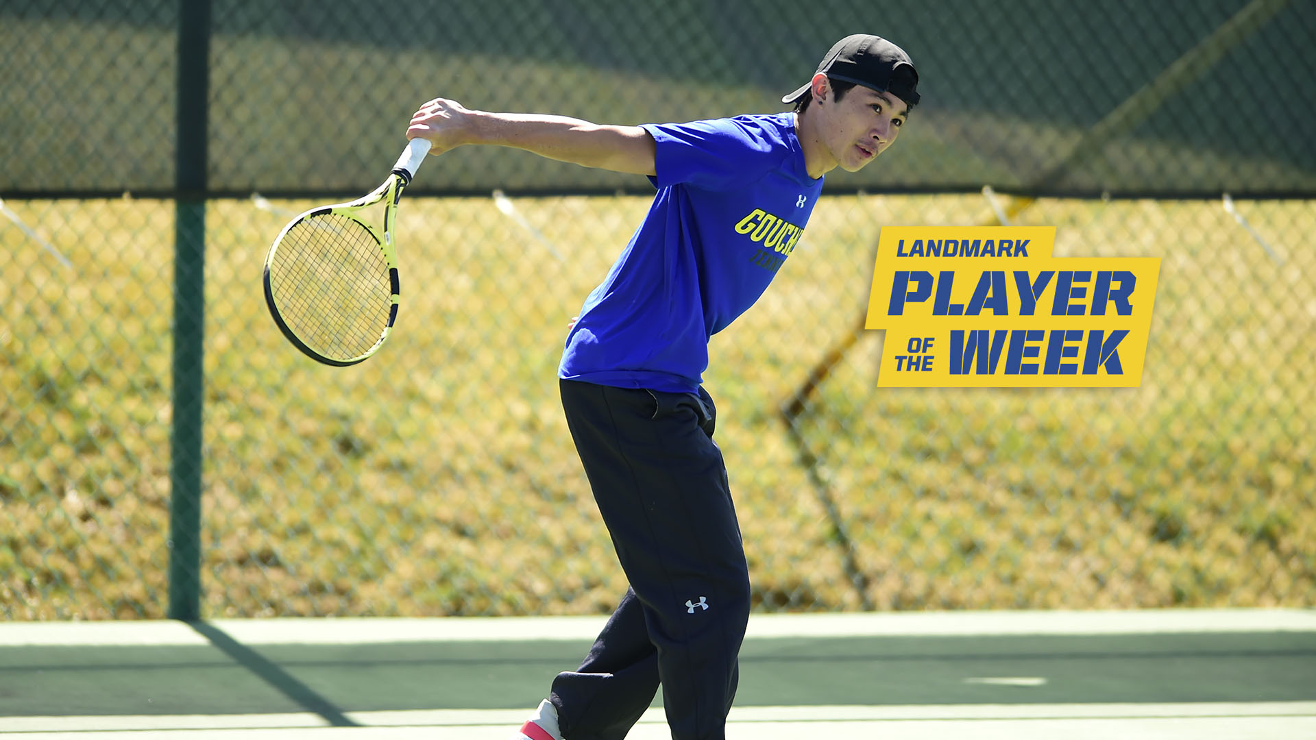 Goucher's Tetsuya Ota Secures Sixth Landmark Conference Men's Tennis Athlete Of The Week Honor