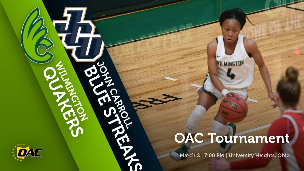 Women's Basketball Continues OAC Tournament at John Carroll on Tuesday