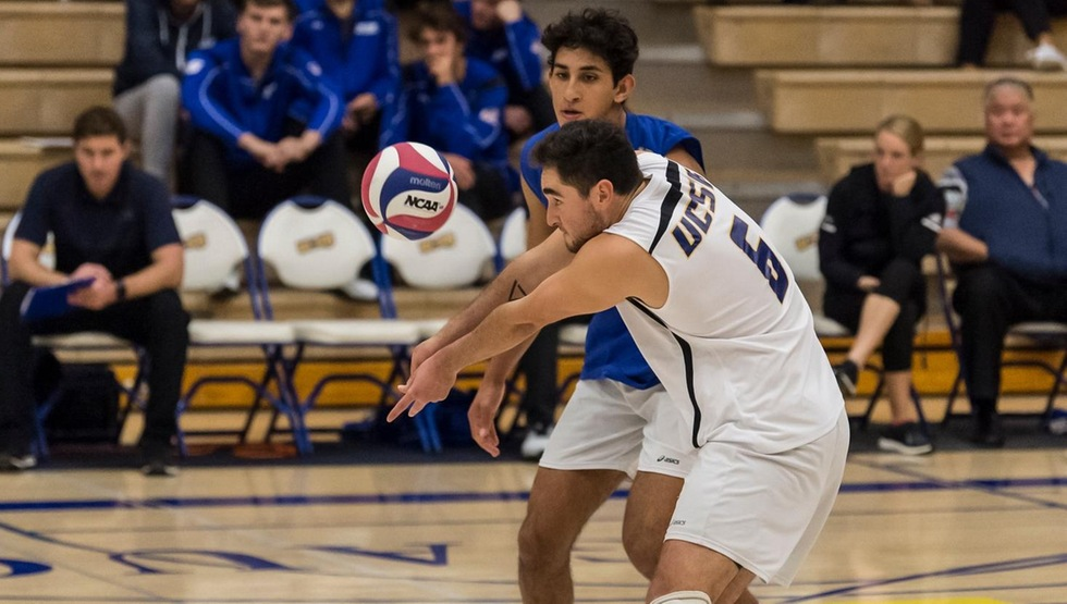 Hayden Boehle and Corey Chavers were both named to the All-Tournament Team after leading the Gauchos to a 3-0 record at the 2019 UCSB Asics Invitational (Photo by Tony Mastres)
