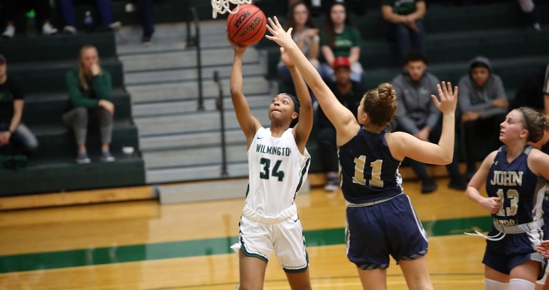 Women's Basketball Falls at John Carroll in Regular Season Finale