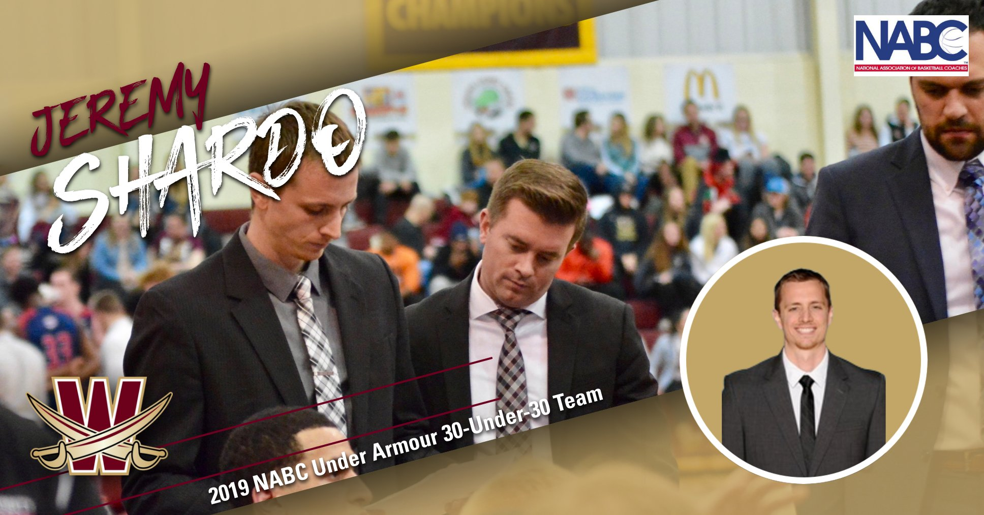 Shardo Named to NABC Under Armour 30-Under-30 Team