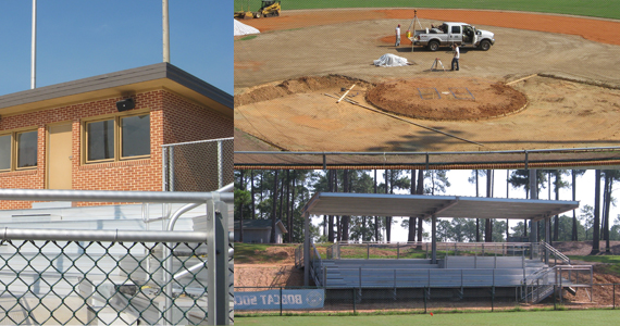 West Campus Athletics Facility Facelift