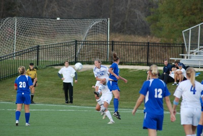 Falcon women's soccer defeats WLC