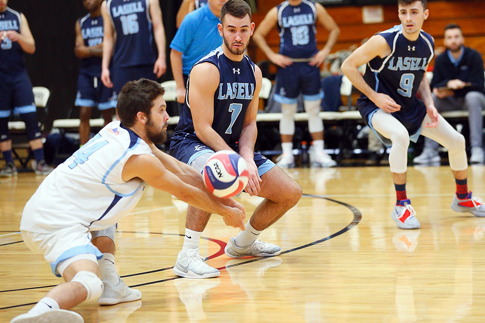 MVB: Lasell splits GNAC tri-match at Regis