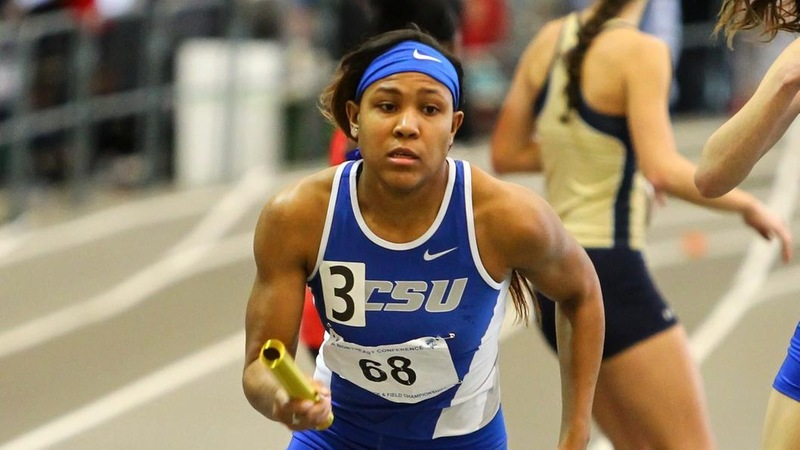 Nesmith Sets New School Record for Triple Jump at New England Championships