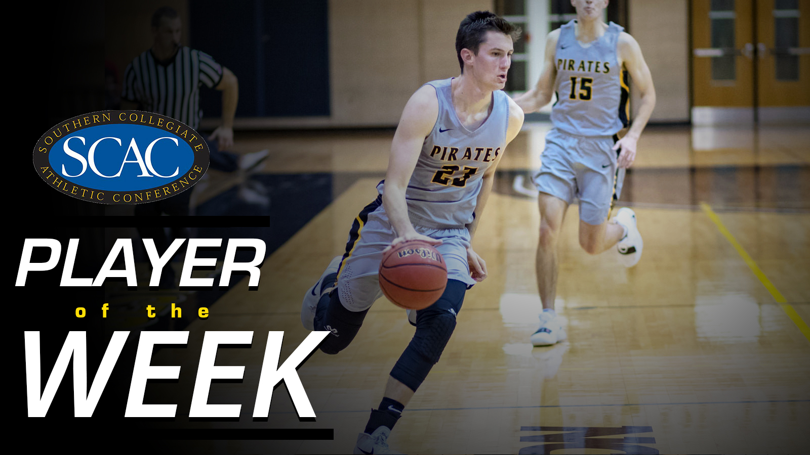 Brandon Alexander Named SCAC Men's Basketball Player of the Week