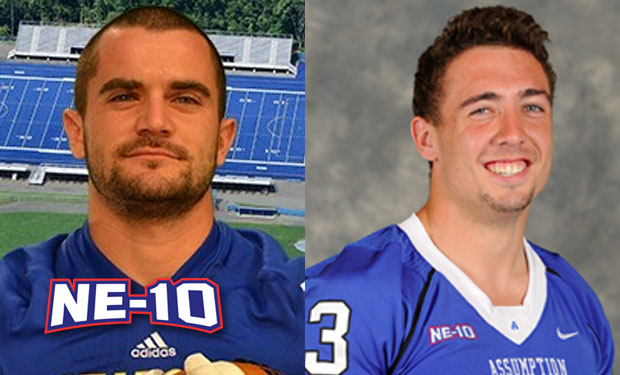 Assumption's Simonson, New Haven's DeCaro Named D2Football.com Preseason All-Americans