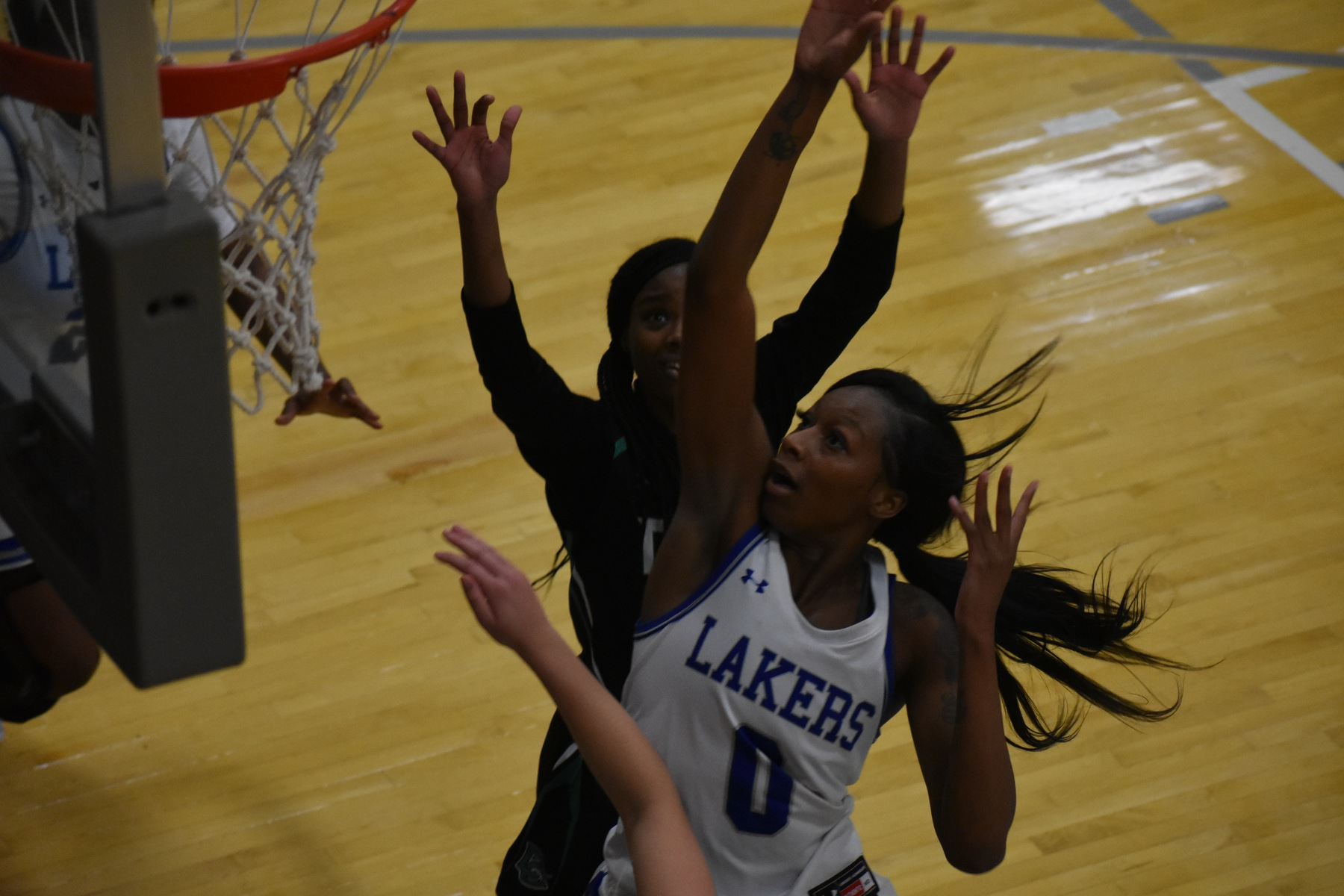 Lakeland women's basketball coasts to victory