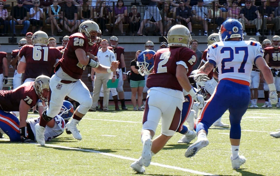Football: Cadets dropped by MIT, 20-0
