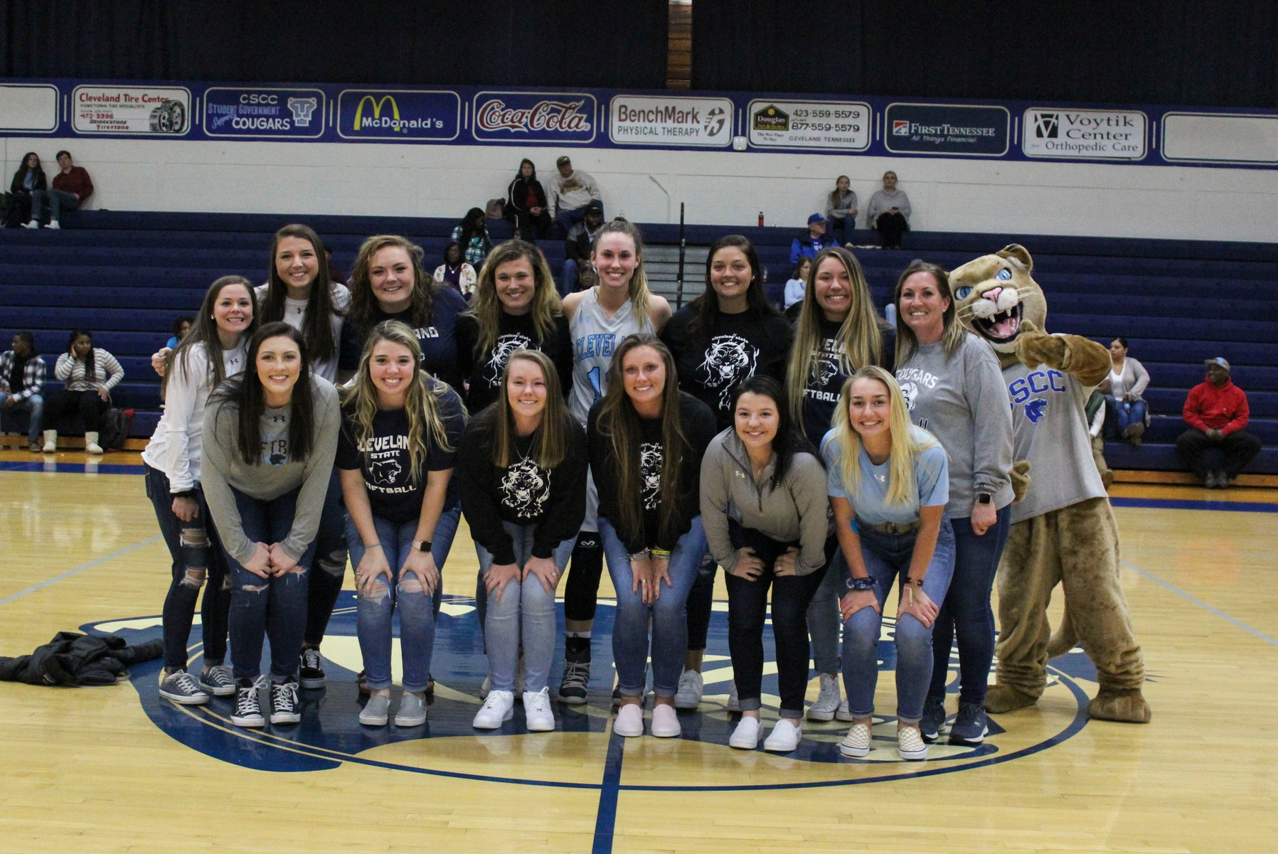 2018 State Runner-Up Lady Cougar Softball Team Recognized