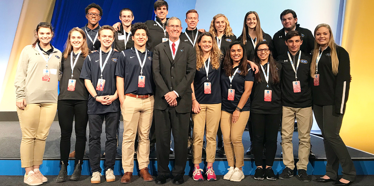 SCAC Student-Athletes Impact 2018 NCAA Convention
