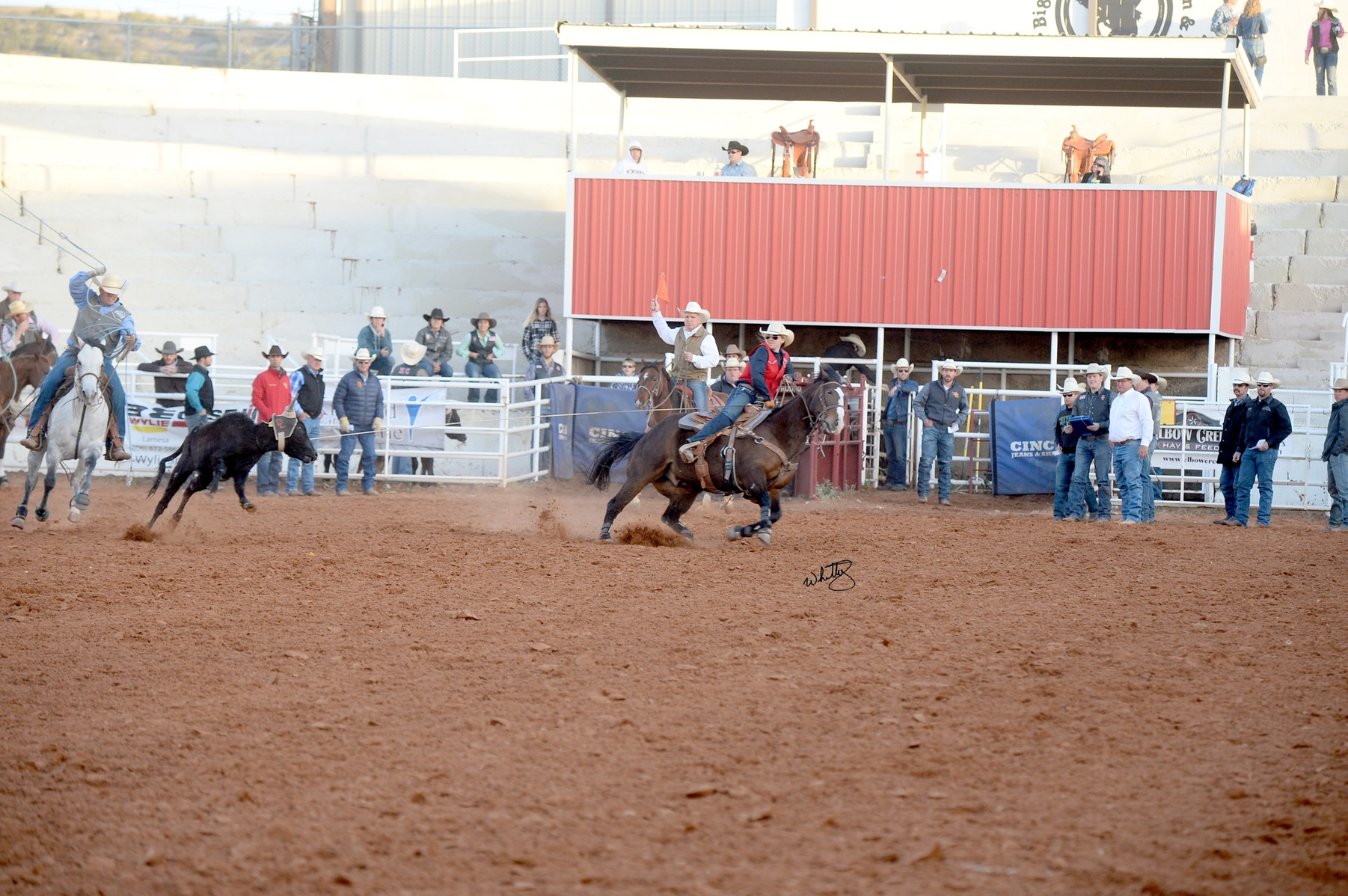 NMJC's Swaize Lee Wins Women's All-Around at HC Rodeo