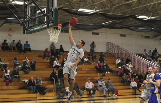 White propels Spartans to quarterfinal win over Hornets