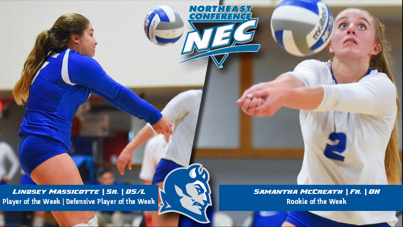 Volleyball Sweeps Molten/NEC Weekly Awards for Second Straight Week