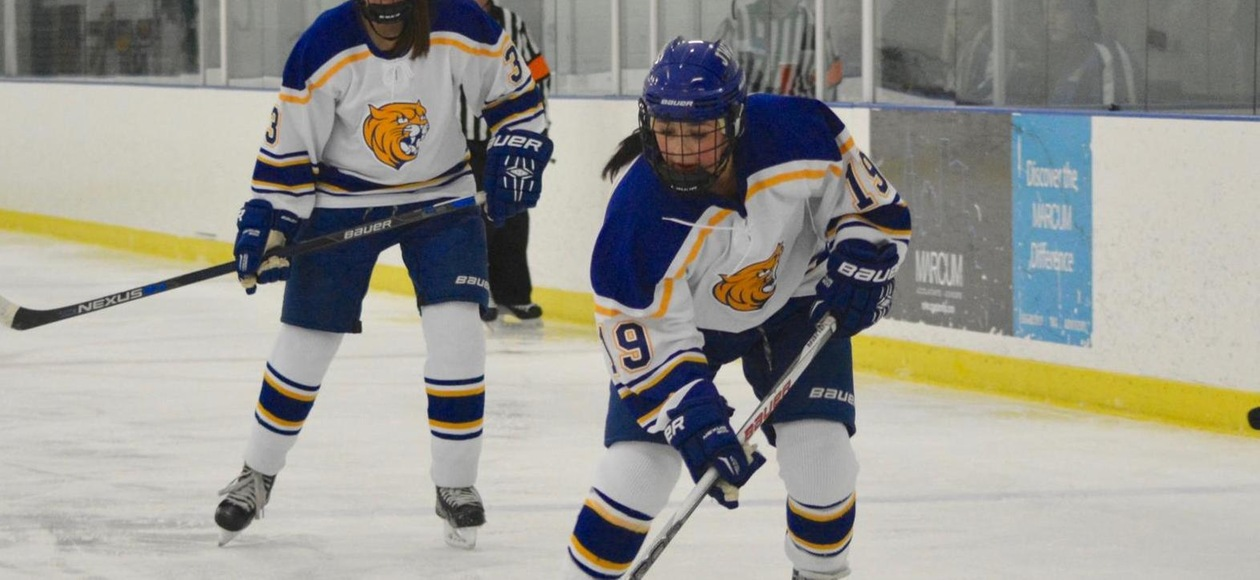 Women's Ice Hockey Tames Cougars 1-0