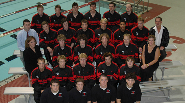 2005-06 Wittenberg Men's Swimming and Diving