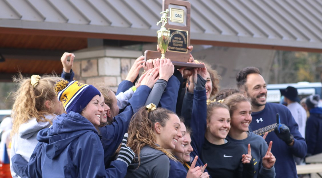 John Carroll women's Cross Country Captures OAC Title