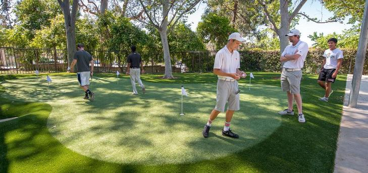 Oxy Opens On-Campus Practice Facility