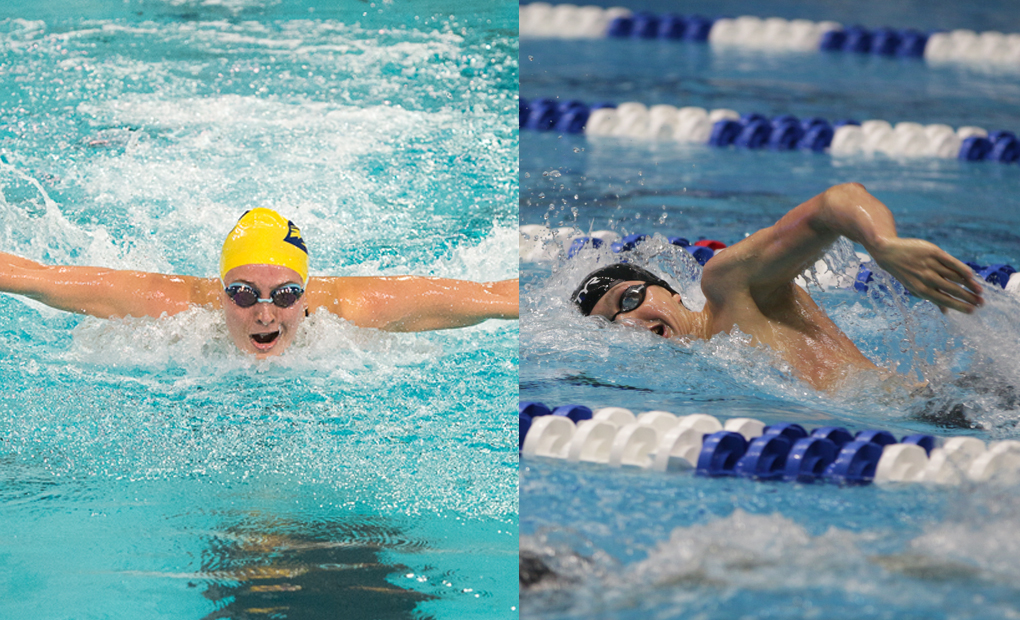 Lucy Daro & Thomas Gordon Claim UAA Weekly Swimming Honors