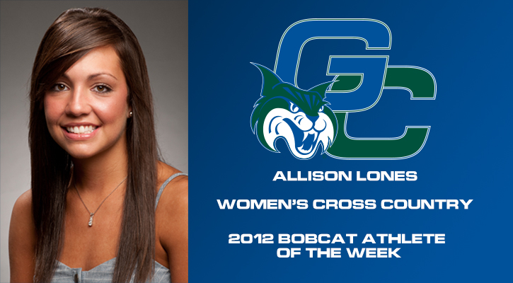 Lones Named Bobcat Athlete of the Week