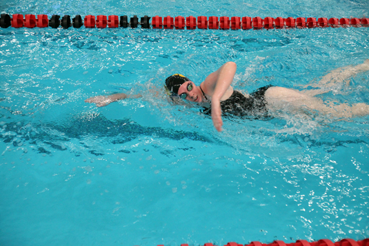 Women's Swimming defeats Cabrini, 106-61