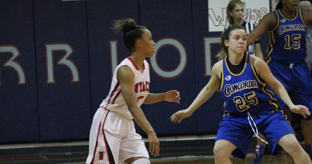 Women's Basketball Upended by Dominican College Chargers