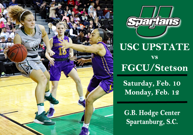 Spartans Host Florida Gulf Coast, Stetson to Conclude Homestand