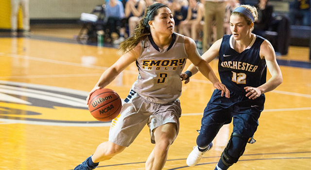 Emory Women's Basketball Student-Athlete Lindsey Tse Brings Energy On and Off the Court