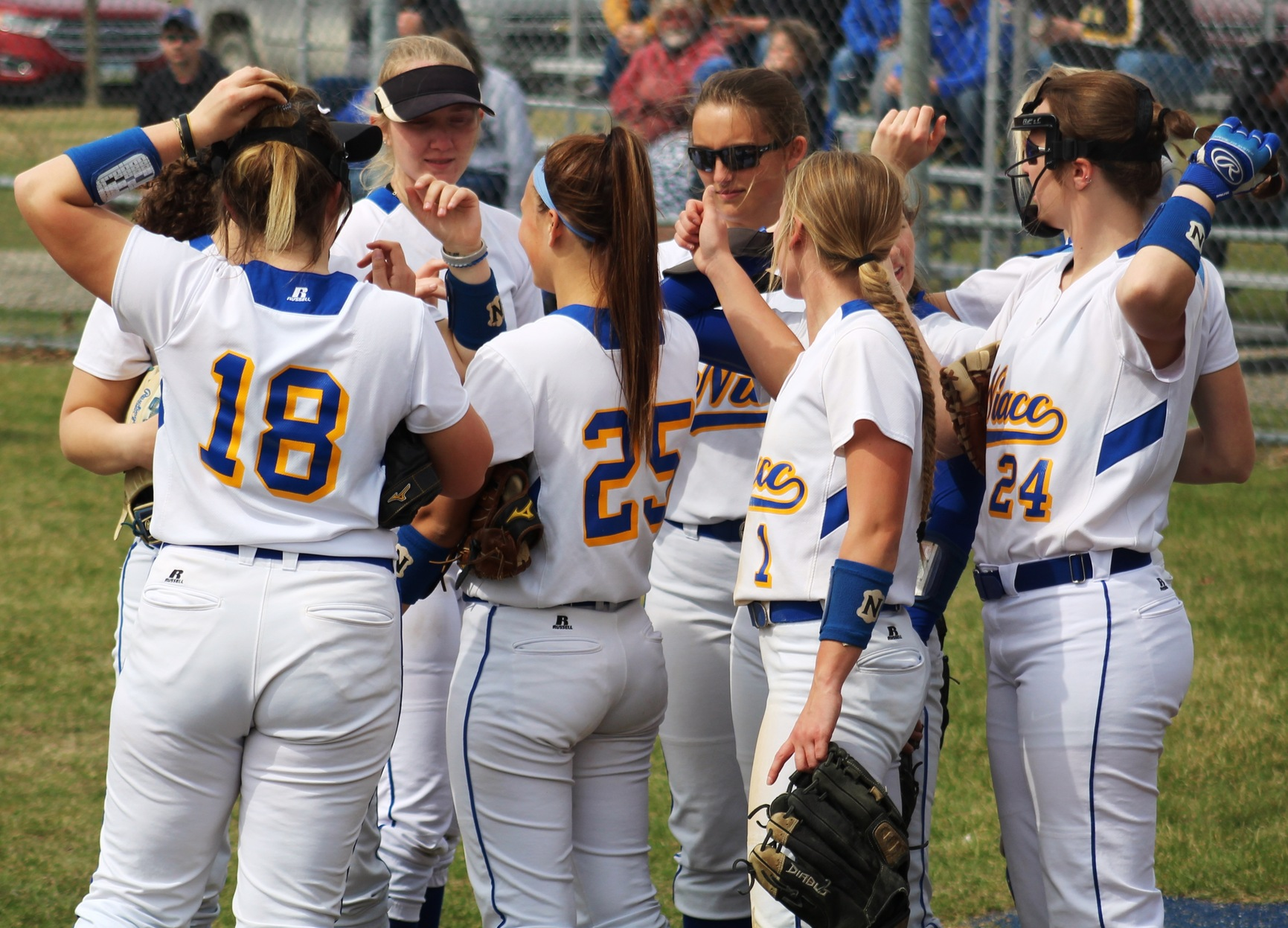 The NIACC softball team plays at DMACC in a doubleheader Friday starting at 1 p.m.