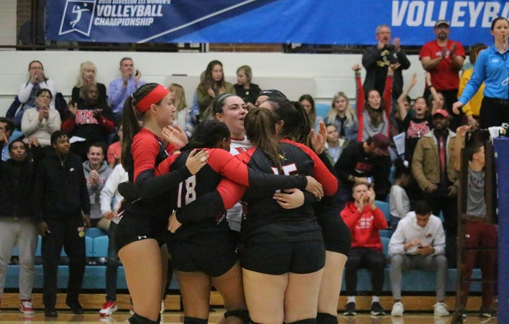 Women's Volleyball Swept by No. 13 Tufts in NCAA Tournament First Round