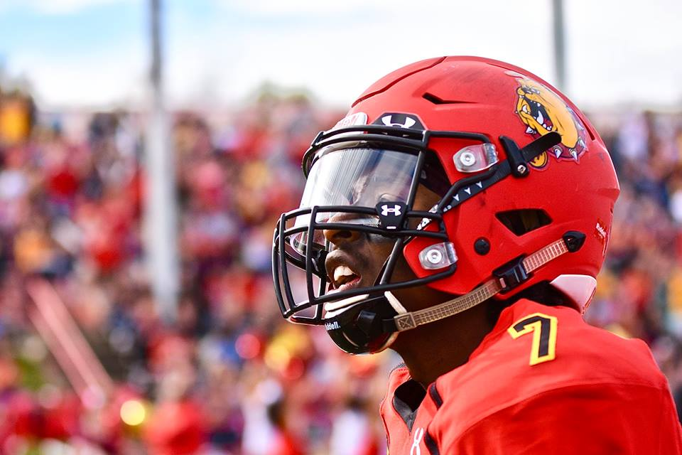 Ferris State Football Vs Grand Valley State Photos By Kevin