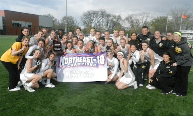 Adelphi Downs New Haven, 14-4, to Win 2014 Northeast Women's Lacrosse Championship
