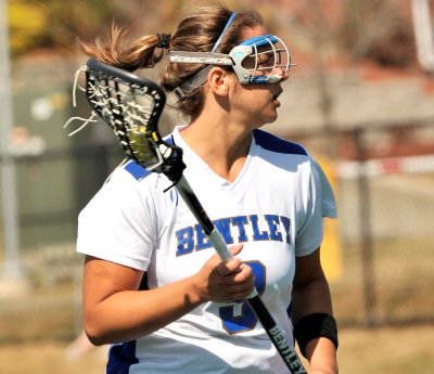 Bastien's Late Goal Lifts Bentley into NE-10 Semis, 9-8 over New Haven