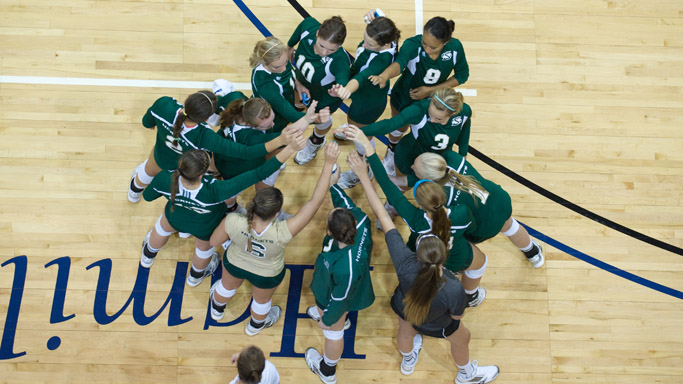 VOLLEYBALL BEGINS HOMESTAND WITH MATCHES FRIDAY AND SATURDAY NIGHT