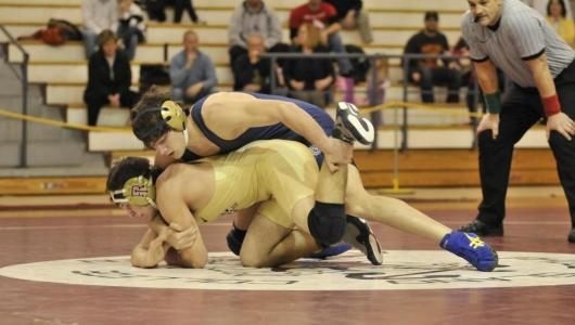 Wrestling Sweeps Williams Quad