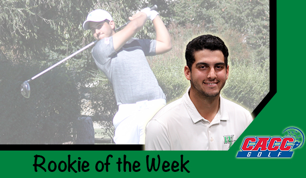 Wilmington Golf's Enrique Valverde Named CACC Rookie of the Week