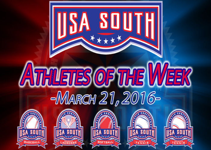 Watson earns USA South Athlete of the Week honors